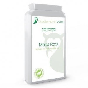 Maca Root Extract 2500mg Capsules