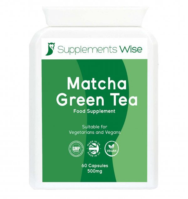matcha green tea capsules