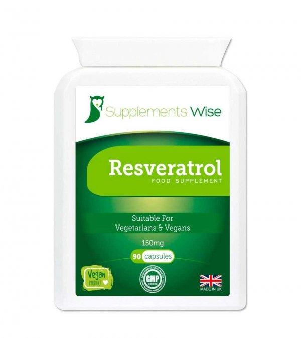 resveratrol 150mg capsules