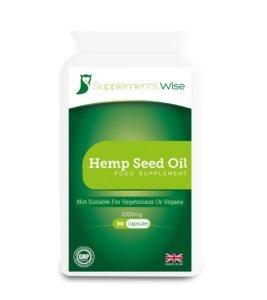 hemp seed oil capules