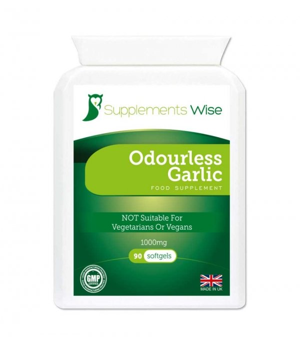 odourless garlic capsules
