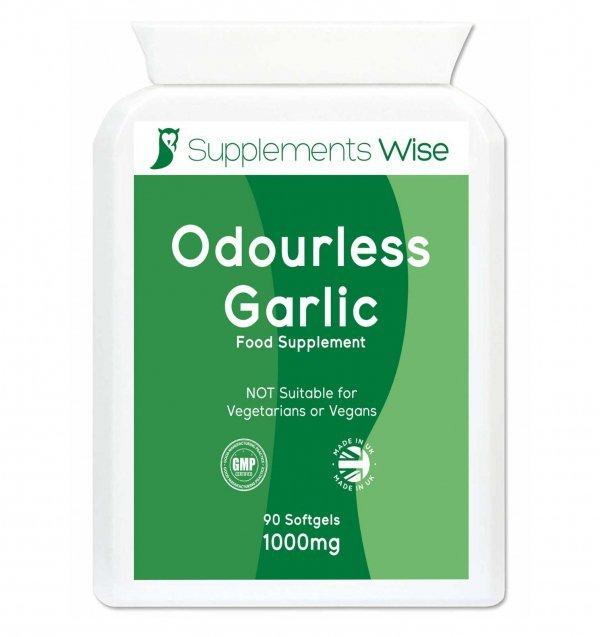 odourless garlic capsules