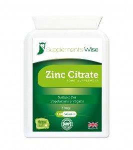 zinc citrate capsules