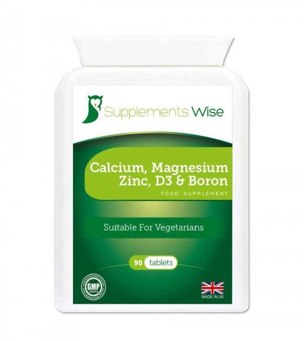 calcium magnesium zinc vitamin d3